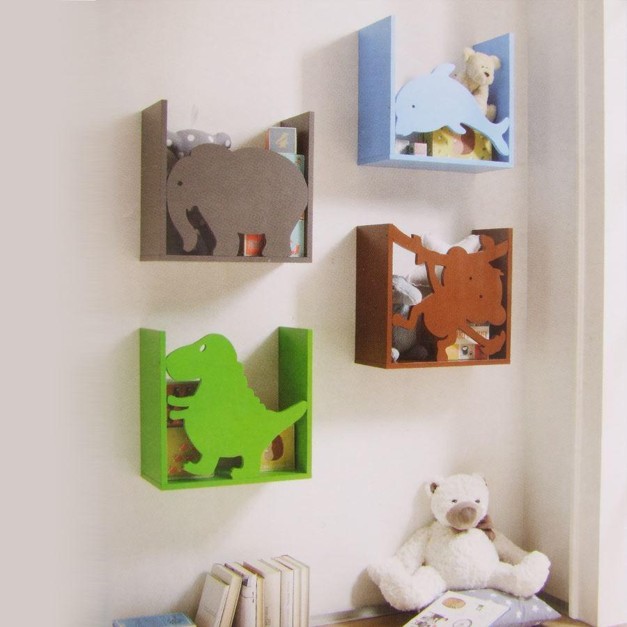 kinderregal dino spielzeugregal wandregal regal kinderzimmer aufbewahrung b cher kaufen bei. Black Bedroom Furniture Sets. Home Design Ideas
