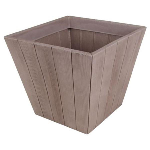 Blumenkübel Wood 40x40cm Natur Kaufen Bei Www1a Handelsagenturde