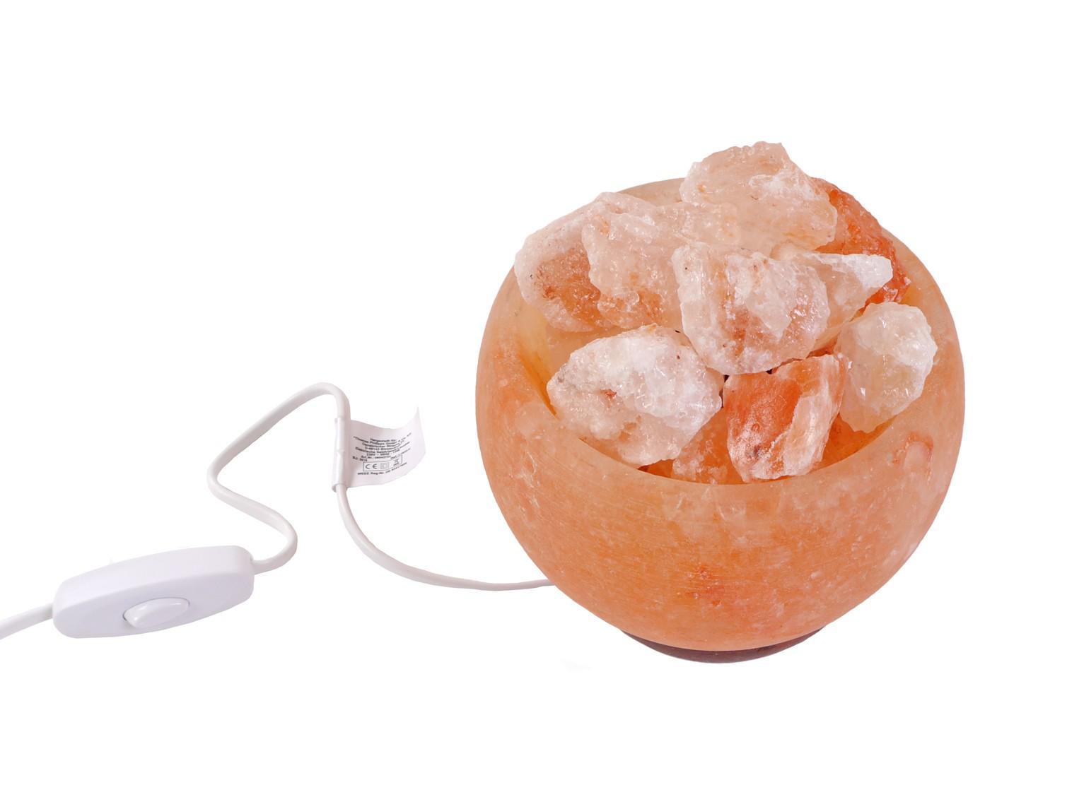Salzkristall leuchte kristall schale salzkristalle for Kristall leuchte