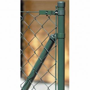 Geflechtspannstäbe 6 x 850 grün RAL 6005