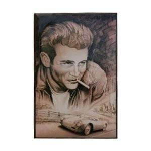 5x Blechschild Wandschild Dekoschilder Metallschilder Werbeschild James Dean Neu