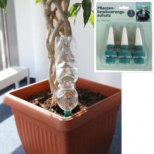 Pflanzenbewässerungsaufsatz 3er-Set Blumentopf Wasserspender Bewässerungssystem