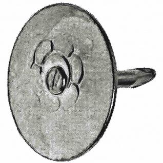 SB Reißbrettstifte 9 mm vermessingt, Inhalt: 100 Stück