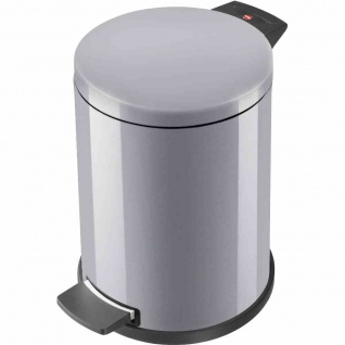 Mülleimer ProfiLine Solid L 18l silber Abfalleimer Abfall Müllbehälter Haushalt