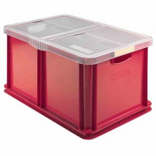 Eurobox + Deckel 60l 59x39x30cm Box Boxen Aufbewahrung Möbel Haushalt Ordnung