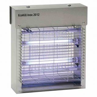 EcoKill Inox 2012 Fliegenvernichter 2x6W 230V/50Hz Mücken Insektenvernichter