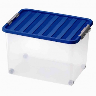 Rollerbox 45l 52x36x34cm + 4 Rollen 12 Stück Box Boxen Aufbewahrung Möbel wohnen