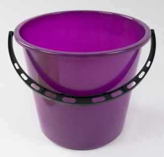 Eimer mit Deckel 5L Wassereimer Putzeimer Windeleimer Mülleimer Plastikeimer - Vorschau 2