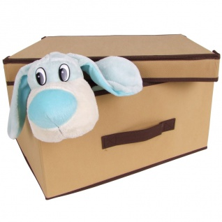 Aufbewahrungsbox beige Regalbox Schrankbox Organizer Ordnungsbox Textilbox Kiste