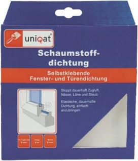 Uniqat SCHAUMSTOFF-DICHTUNG Schaumstoffdichtung Weiss