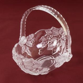 Walther Glas Poinsettia Körbchen 20, 5 cm