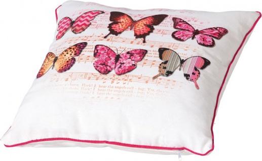 """MADISON KISSEN Zierkissen ,, Pillow"""" PILCF187 Pillow 40x60 Cm Butterfly Fuc"""