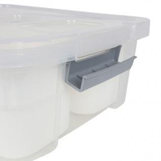 Aufbewahrungsboxen-Set 12-teilig Storage Box Organizer Sortierkasten Stapelbox - Vorschau 5
