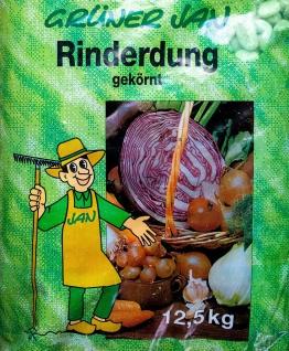 Rinderdung Pellets 12, 5kg Rindermist Dung Dünger Gartendünger Kuhmist Stalldung