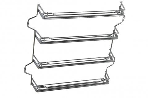 Wesco Gewürzbord Gewürzregal Einbau Küchenschrank B= 39 cm Ablage Allzweckkorb