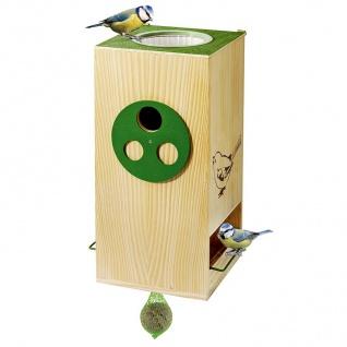 Vogelfutterhaus Nistkasten Vogeltränke Futterstation Wasserstelle Gartendeko