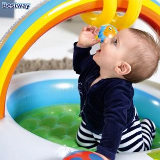 Spielcenter Rainbow Planschbecken Kinderpool Spielbogen Spieltrainer Babypool - Vorschau 3