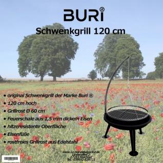 Schwenkgrill 120cm der Marke Buri ®