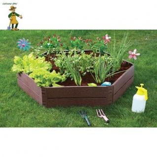 Beeteinfassung 6-eckig Pflanzbeet Hochbeet Rahmen Beetumrandung Gartenbeet