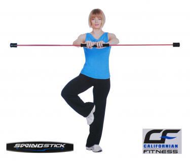 Trainingsset Swingstick +DVD +Anleitung 162cm Schwingstab Flexistab Schwungstab