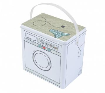 Waschmittelbox Metall Waschpulverbox Behälter Waschmittelbehälter Dose Büchse