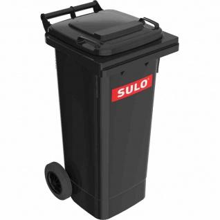 Kunststoff-Müllgroßbehälter grau 80 l MGB Kunststoff