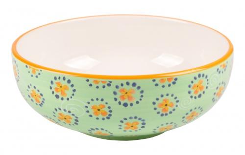 Keramik-Schüssel 22cm Servierschüssel Salatschüssel Suppenschüssel Schüssel Deko