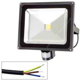 LED-Flutlicht 50W mit Bewegungsmelder