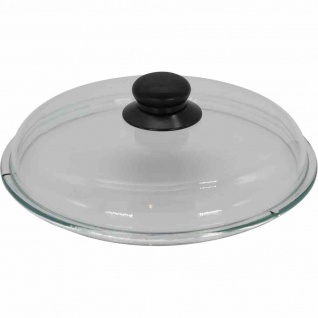 Glasdeckel 20 cm Kunststoffknopf