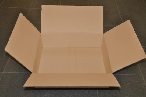 10 x Kartons Pappkartons Pappe Verpackung Karton Kartonage 450 x 390 x 130 mm - Vorschau