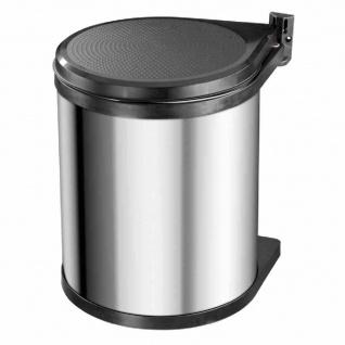 Einbau-Abfallsammler Compact-Box M Edelstahl 15 l