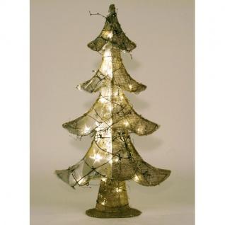 LED Jute-Weihnachtsbaum Tannenbaum Weihnachtsdeko Dekobaum Christbaum Advent - Vorschau 3