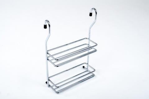 Wesco Relingsystem Gewürzbord schmal Chrom Küchenreling