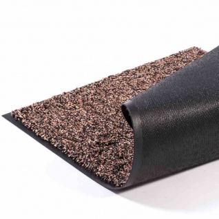 Fußmatte Lima braun 60x90cm Schmutzfangmatte Bodenmatte Fußabtreter Haushalt TOP