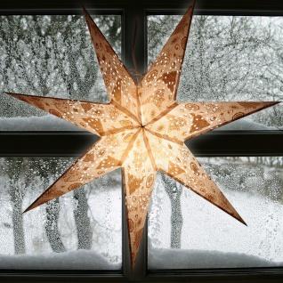 Weihnachtsstern 60cm Weihnachtsdeko Adventstern Leuchtstern Fensterdeko Stern