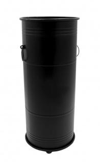 Metall Regenschirmständer weiß oder schwarz Schirmhalter Schirmständer Garderobe - Vorschau 3