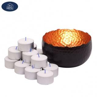 Teelichthalter Noir Kerzenständer Kerzenhalter Kerzenleuchter Tischleuchter Deko