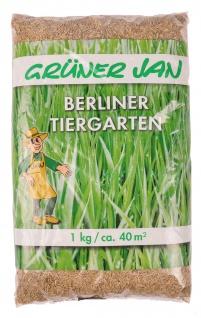 Rasensamen Berliner Tiergarten 1 Kg Saatmischung Rasenmischung Rasensaat Rasen