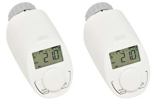 2x Eqiva Energiespar-Regler Model N für Heizkörperregler Thermostatventil