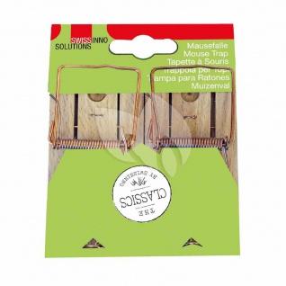 Classic Holz Mausefalle Schlagfalle Falle Maus Mäuse Schädlingsschutz Schutz TOP