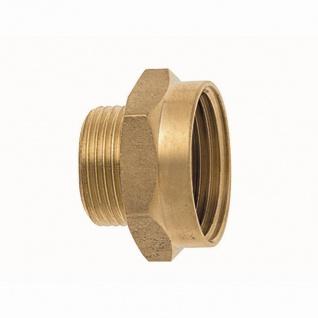 "Messing Gewindenippel IG 25mm (1"")x AG 19mm (3/4"") reduziert"