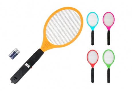 Elektrische Fliegenklatsche Insektenvernichter Mückentöter Tennisschläger
