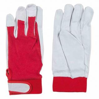 Strick Fahrerhandschuhe Gr. 10 Leder Arbeitshandschuhe Sicherheit Schutz Arbeit