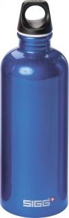 """SIGG SWITZERLAND SIGG Trinkflasche ,, Traveller Dark Blue"""" 7523.30 Bottle Traveller Bl.0, 6"""