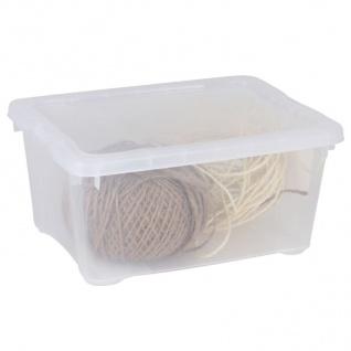 Klarsichtbox Aufbewahrungsbox Allzweckbox Vorratsbox Transparent Kunststoffbox