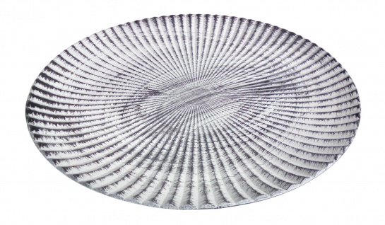 Holz-Dekoteller 49cm Dekoschale Kerzenteller Holzschale Dekoteller Tischdeko