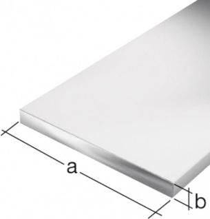 GAH Alberts FLACHSTANGEN 473020 Alu Silber.1m/20x2