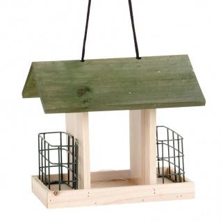 Vogelfutterhaus Vogelstation Futterspender Futterkrippe Futterhaus Vogelhäuschen - Vorschau 2