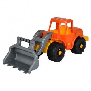 Großer Spielzeug-Schaufellader Bagger Radlader