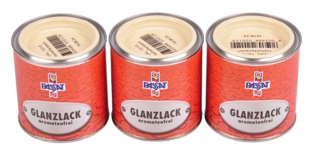 Passat Lack 750ml RAL 1015 hellelfenbein glänzend Holz Metall Glanzlack Decklack